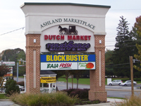 Ashland Marketplace Sign