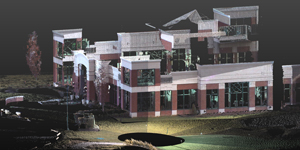 3D Laser Scan of a Building