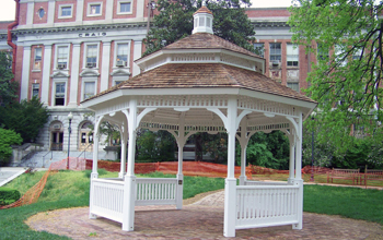 Gazebo at Walter Reed