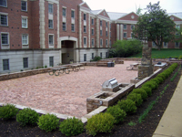 Walter Reed Mologne House Courtyard